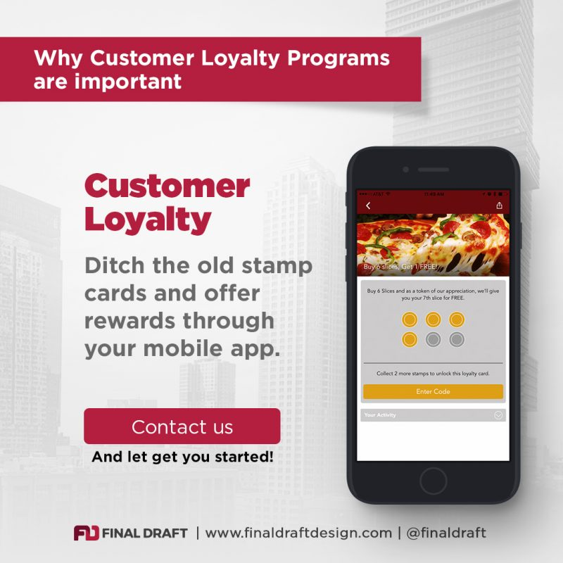 Why Loyalty Reward Programs are Important – Final Draft Design
